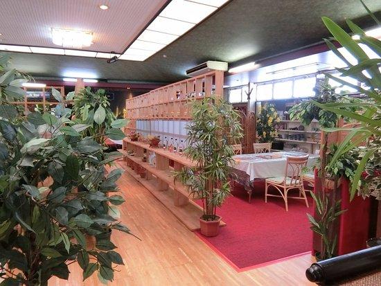 Mobara, Japonya: 広い室内