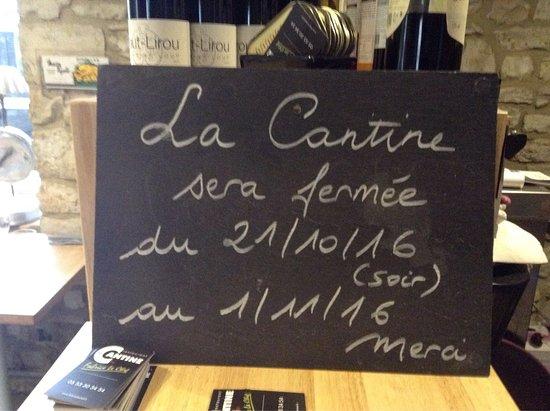 Daglan, فرنسا: La Cantine by Fabrice Le Chef