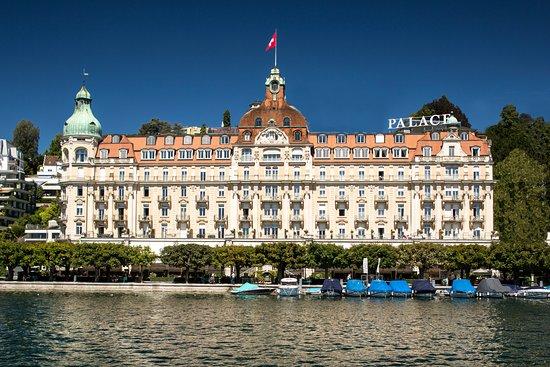 PALACE LUZERN: Hotelfassade