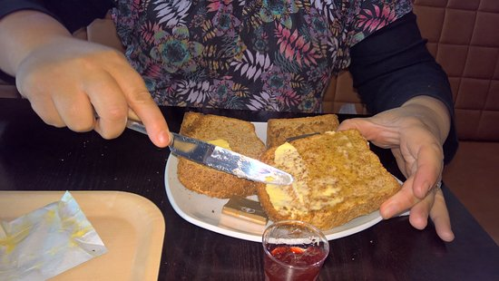 Burscough, UK: Top for toast!