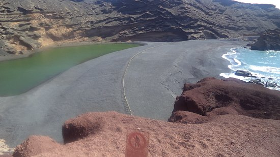 El Lago Verde: Blick von Oben