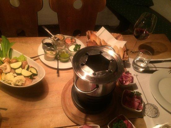 Chieming, Deutschland: Fondueabend