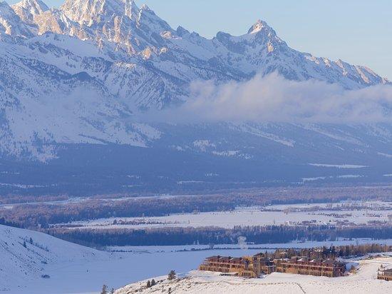Amangani: View of the Teton Mountain Range