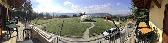 Gualdo Tadino, Italie : La vista