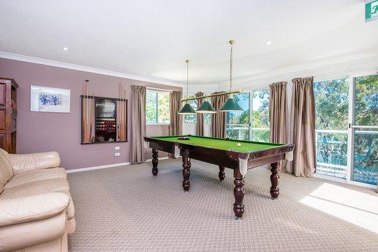 Hope Island, Australia: Billiards Room