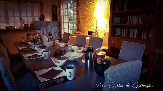 Le Mas de Mougins : Salle d'hiver pour les petits déjeuner
