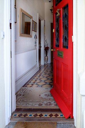 Seaton, UK: Front Door Welcome