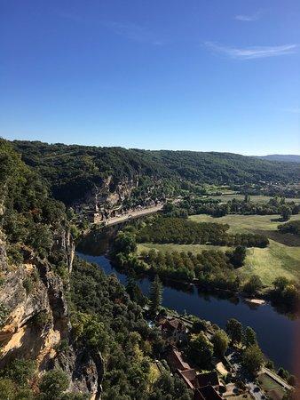 Vezac, Γαλλία: вид на долину