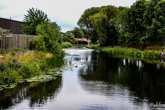 Leicestershire, UK: River Soar