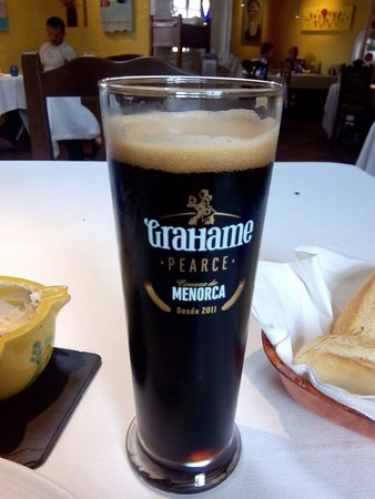 Sant Climent, Испания: cerveza Grahame Pearce- stout