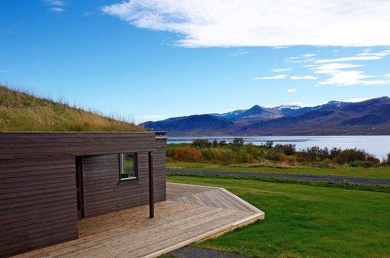 Bjarg Borgarnes - private house behind the farm with a wonderful view over the Borgarfjörður