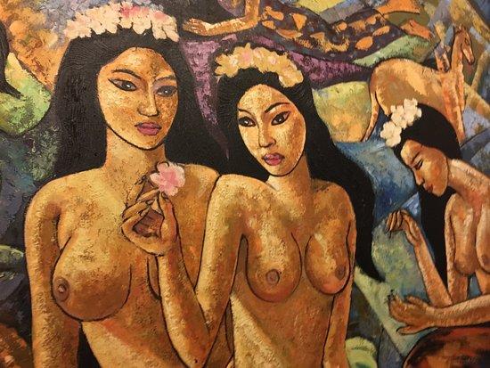 Haapiti, Polinesia Francesa: Tahitian Artwork