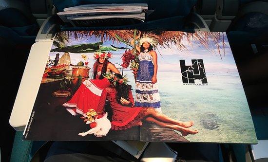 Haapiti, Polinesia Francesa: Fenua Mata'I'Oa in the Tahiti Nui inflight magazine
