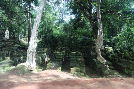 Angkor Wat: Остатки моста