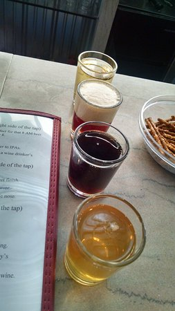 Ovid, Nova York: Flight of Craft Beers