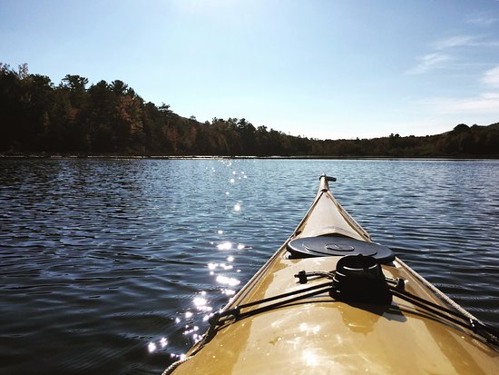 Mauch Chunk Lake Park: Kayaking on Mauch Chunk Lake