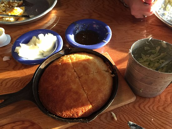 Top O' The River: individual all you can eat cornbread and cole slaw