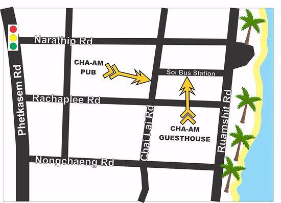 Cha-Am Pub : Directions