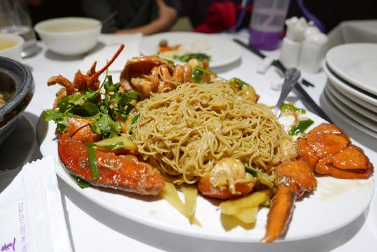 Lobster Noodles Which Were A Bit Of A Let Down Picture Of