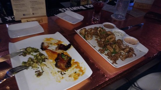 Middletown, CT: pork belly & calamari apps