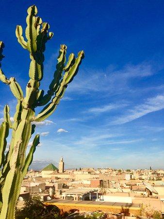 Riad 144 Marrakech: La plus belle des vues sur Marrakech