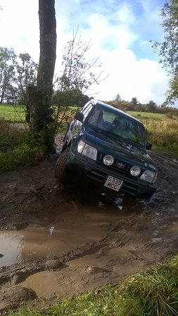Gartmore, UK: Off road driving experience
