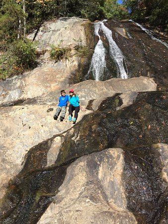 Dixie Falls off of the Bartram Trail.