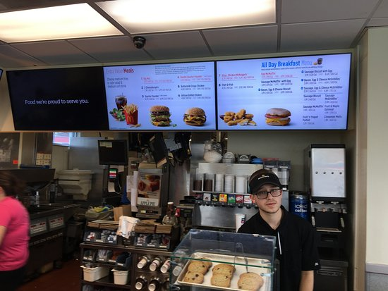 "Gouldsboro, PA: McDonald's - ""service"" line"