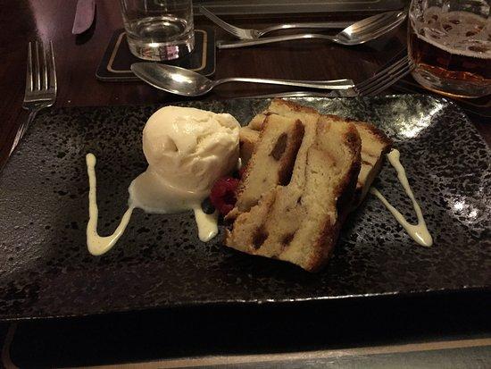 Okehampton, UK: Bread & Butter Pudding (mmmmmhhhhhhh)