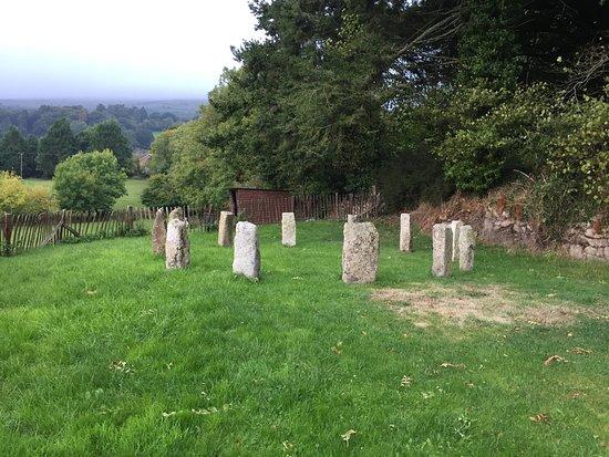 Okehampton, UK: The stone-circle