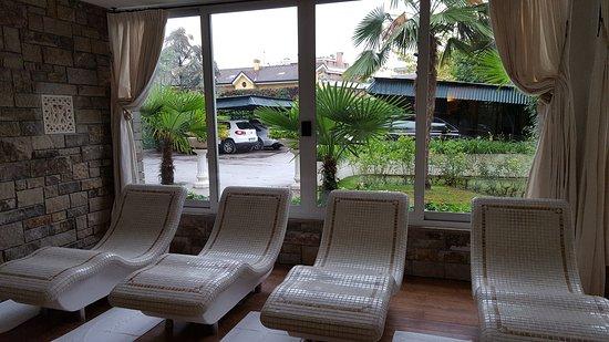 Hotel Terme Tritone Thermae & Spa: Le saune