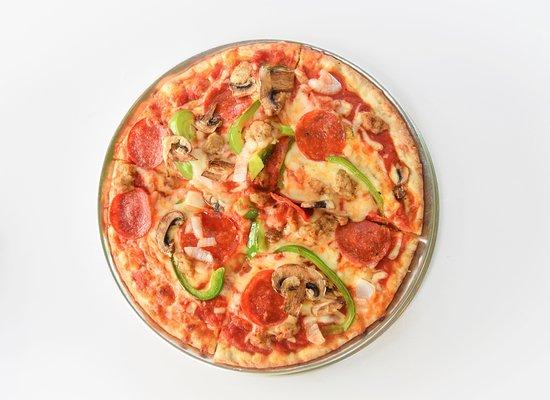 Harvey, LA: Veggie Pizza