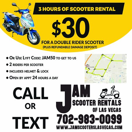 Jam Scooter Rentals Of Las Vegas 2018 All You Need To Know Before