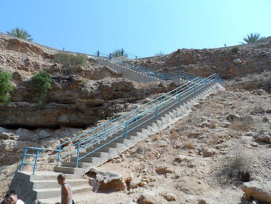 Dibba Al Bay Ah, Oman: The steps