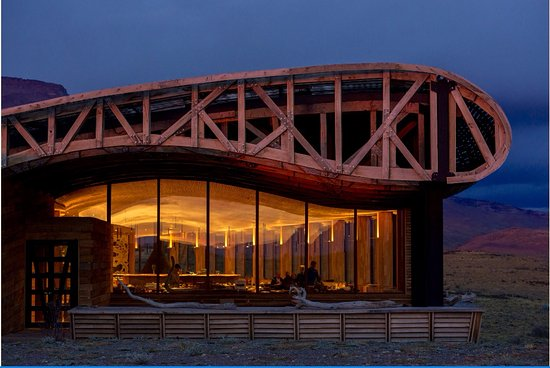 Tierra Patagonia Hotel & Spa: Nothing like a dramatic architecture! Tierra Patagonia.