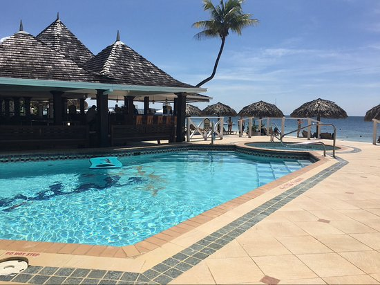 Sandals Negril Beach Resort Spa Piano Bar And Pool