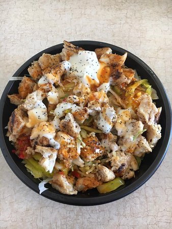 Awesome salads are available at Jreck's Subs Massena NY.  This buffalo chicken salad is awesome!