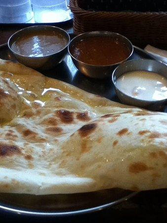 Currynabe Thali-ya Shinjuku Center Bldg: 2食カレー定食