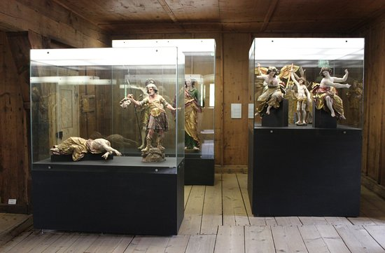 Mustair, สวิตเซอร์แลนด์: Klostermuseum Müstair (CH)