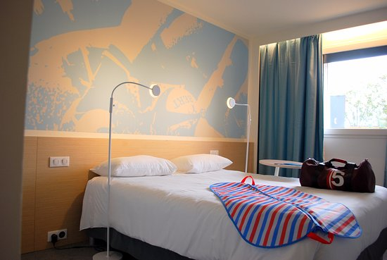 chambre lit double 160 photo de hotel ibis styles toulouse nord sesquieres toulouse tripadvisor. Black Bedroom Furniture Sets. Home Design Ideas