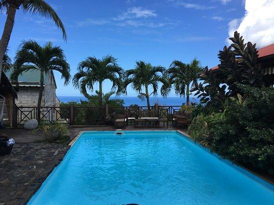 Domaine Karaibes: Vue de la piscine