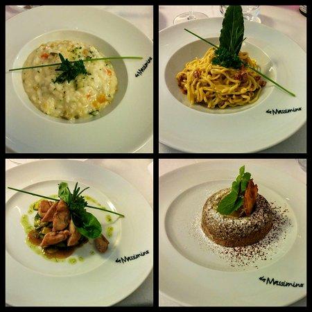 Pianoro, Italia: Menù del pranzo più un dolce
