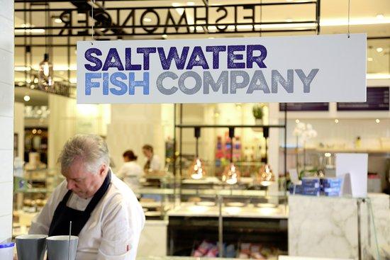 saltwater fish company in fenwick food hall