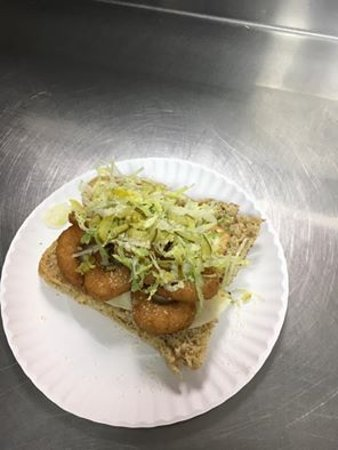 Massena, NY: Golden Ale Batter Shrimp Sub!