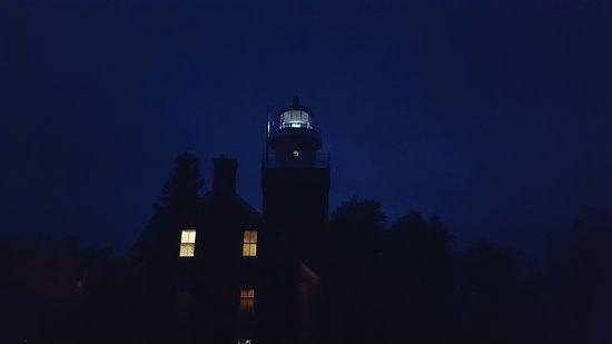 Big Bay, Мичиган: Light at night