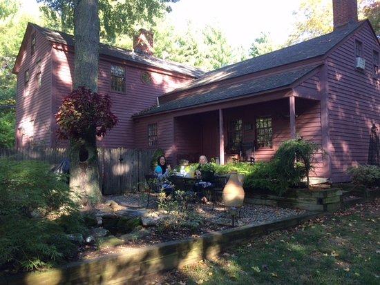 Simsbury, CT: Frühstück an einem sonnigen Herbstmorgen