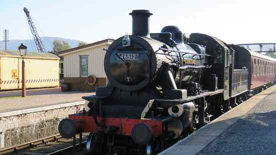 Aviemore, UK: A relaxed train ride and much more!