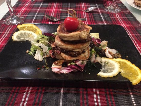 Voluntari, Rumania: burger au foie gras