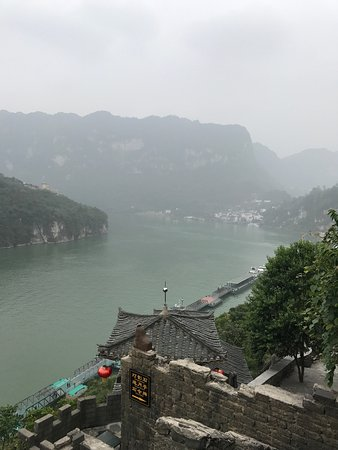 Yichang, China: Beautiful view of Sanxia or The Three Gorges tribes