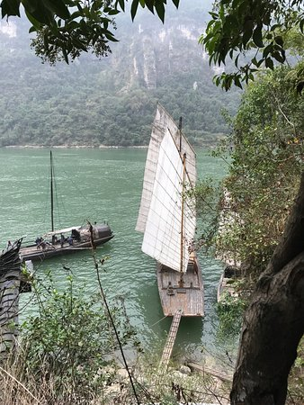 Yichang, Chine : Beautiful view of Sanxia or The Three Gorges tribes